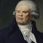 Portrait of Georges Danton (1759-1794), orator and politician - Carnavalet museum - French revolution timeline by PARIS BY EMY