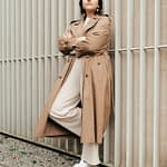 The trench Parisian woman style wardrobe by PARIS BY EMY