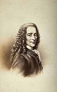 Voltaire a fabulous humanist by Paris by Emy