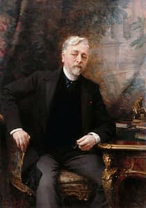Portrait of Gustave Eiffel what to do in Paris by PARIS BY EMY