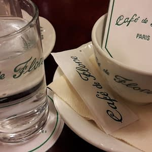 Café de Flore Saint Germain PARIS BY EMY Paris Trip Planner