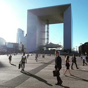 La Défense business district center a must see PARIS BY EMY