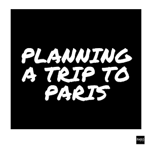 Planning school trips by PARIS BY EMY