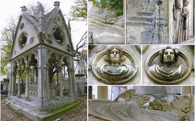 Héloïse and Abélard the most famous couple of the XIIe century PARIS BY EMY romantic things to do in Paris