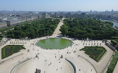 Tuileries garden Paris by PARIS BY EMY Paris Trip Planner