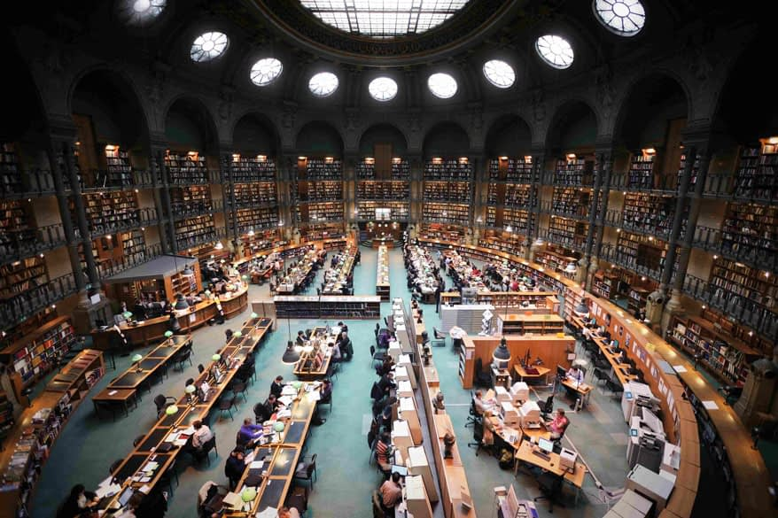 Student Tours Paris BNF National Library of France PARIS BY EMY